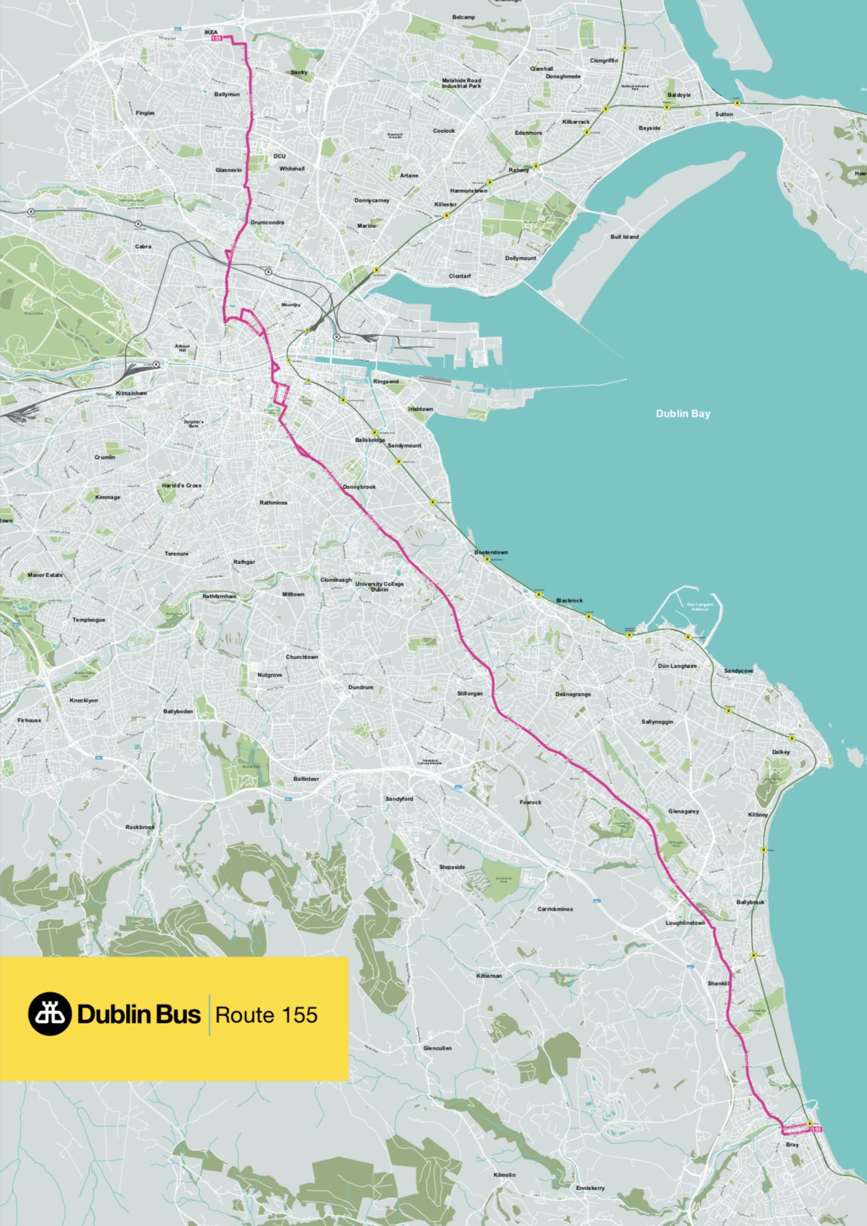 Dublin Bus Route 155